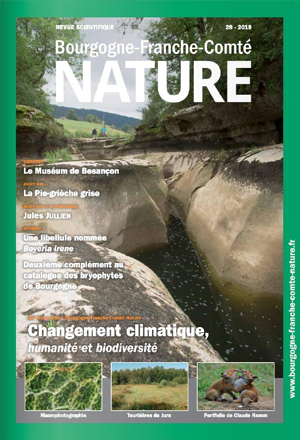 revue scientifique BFC Nature N°29