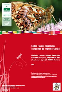 Liste rouge insectes 2014 CBNFC-ORI