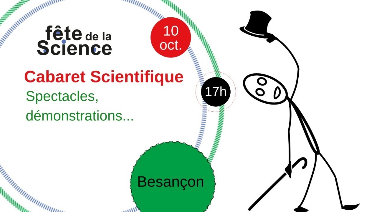 [Fête de la science] Cabaret scientifique